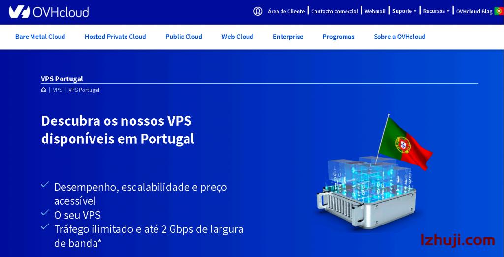 ovhcloud:提供葡萄牙VPS+葡萄牙服务器,不限流量-撸主机评测-国外VPS,国外服务器,国外主机,测评及优惠码