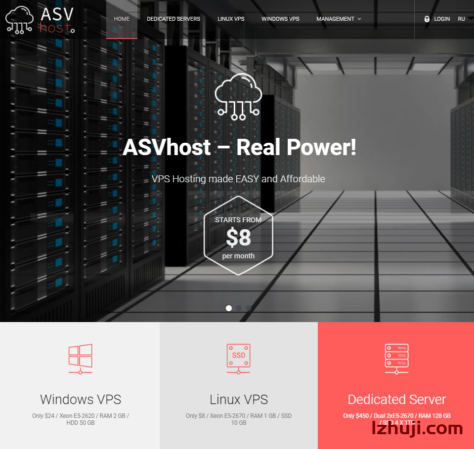 asvhost:VPS支持windows 2003等,不限流量,可选瑞典、美国、德国、俄罗斯数据中心-撸主机评测-国外VPS,国外服务器,国外主机,测评及优惠码