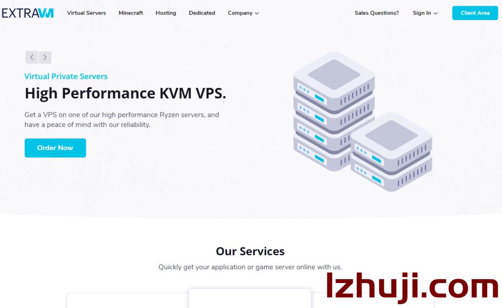 extravm:Ryzen 3900X+NVMe+1gDDR4内存,仅需$3.48美元,达拉斯机房-撸主机评测-国外VPS,国外服务器,国外主机,测评及优惠码