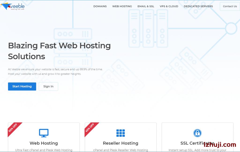 veeble,一个提供windows 2003不限流量的VPS服务商-撸主机评测-国外VPS,国外服务器,国外主机,测评及优惠码