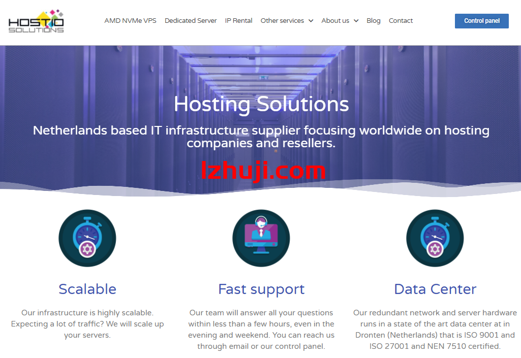 hostio,荷兰VPS,内容很宽松,带宽高峰保持300M以上-香港云服务器-高防服务器-不限内容服务器-免备案CDN-撸大师评测