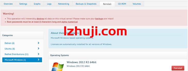 BuyVM安装Windows 2012系统且需要配置网络才能远程连接-香港云服务器-高防服务器-不限内容服务器-免备案CDN-撸大师评测